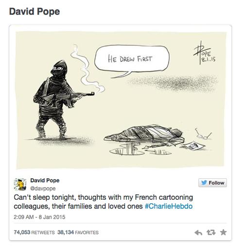 Charlie Hedbo response
