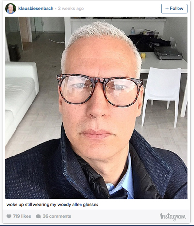 Klaus instagram