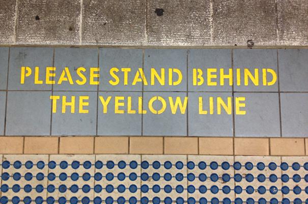 yellow line